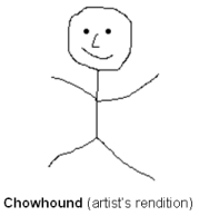 Chowhound (artist's rendition)